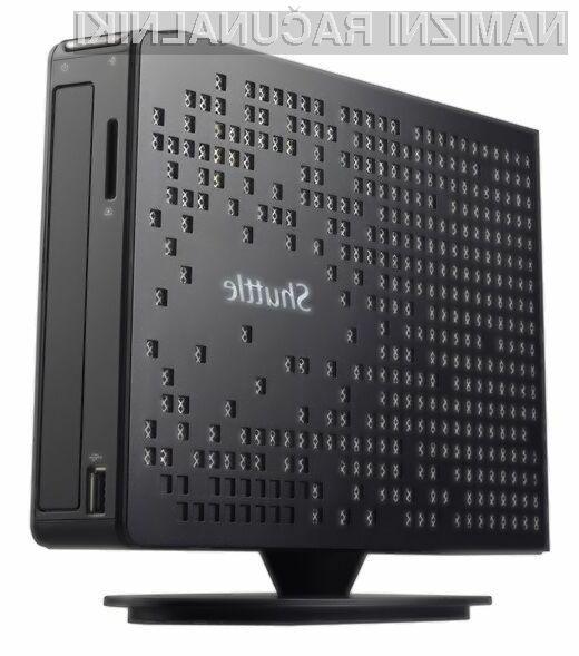 Računalnik Shuttle XS35V4 je kljub pasivnemu hlajenju zlahka kos tudi nekoliko zahtevnejšim opravilom!