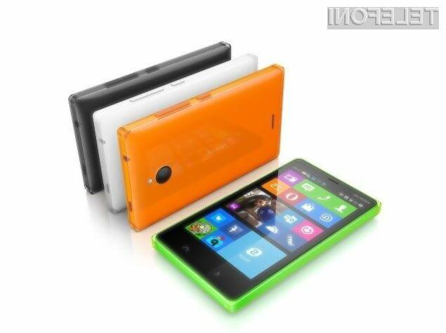 Pametnim mobilnim telefonom Nokia X so šteti dnevi!