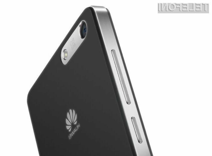 Maloprodajna cena pametnega mobilnega telefona Huawei Mulan naj bi se gibala okoli 200 evrov.