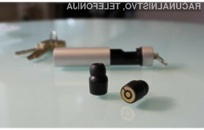 Superkompaktne brezžične slušalke Earin