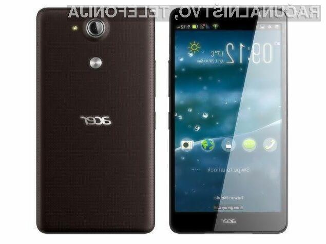 Pametni mobilni telefon Acer Liquid X1 nas vsaj zlahka ne bo pustil na cedilu!