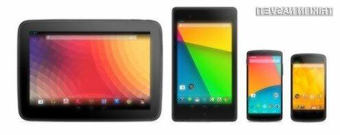 Android 4.4.4 KitKat pristal na mobilnih naprava Nexus!