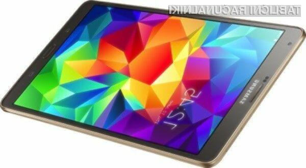 Sasmung napada s tablico Galaxy Tab S!