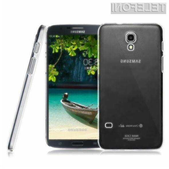 Pametni mobilni telefon Samsung Galaxy Mega 2 bomo zaradi velikosti le stežka držali v eni roki!