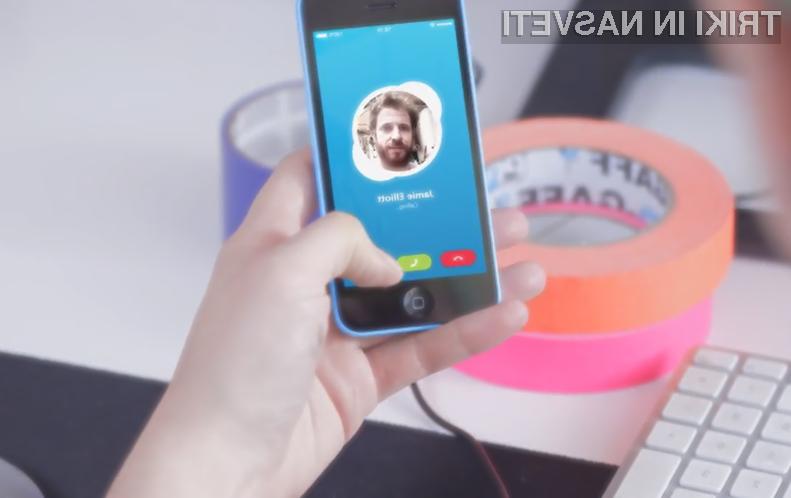Prenovljeni Skype za iPhone se sedaj lahko brez težav kosa s konkurenčnimi rešitvami Viber, WhatsApp, Line in Snapchat.