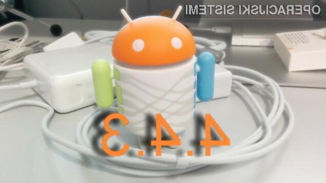 Osupljivi Android 4.4.3 KitKat na pohodu!