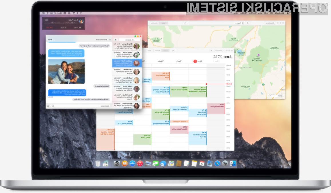 Vse funkcionalnosti operacijskega sistema OS X 10.10 (Yosemite) bodo na voljo le uporabnikom novejših Applovih osebnih računalnikov in mobilnih naprav.