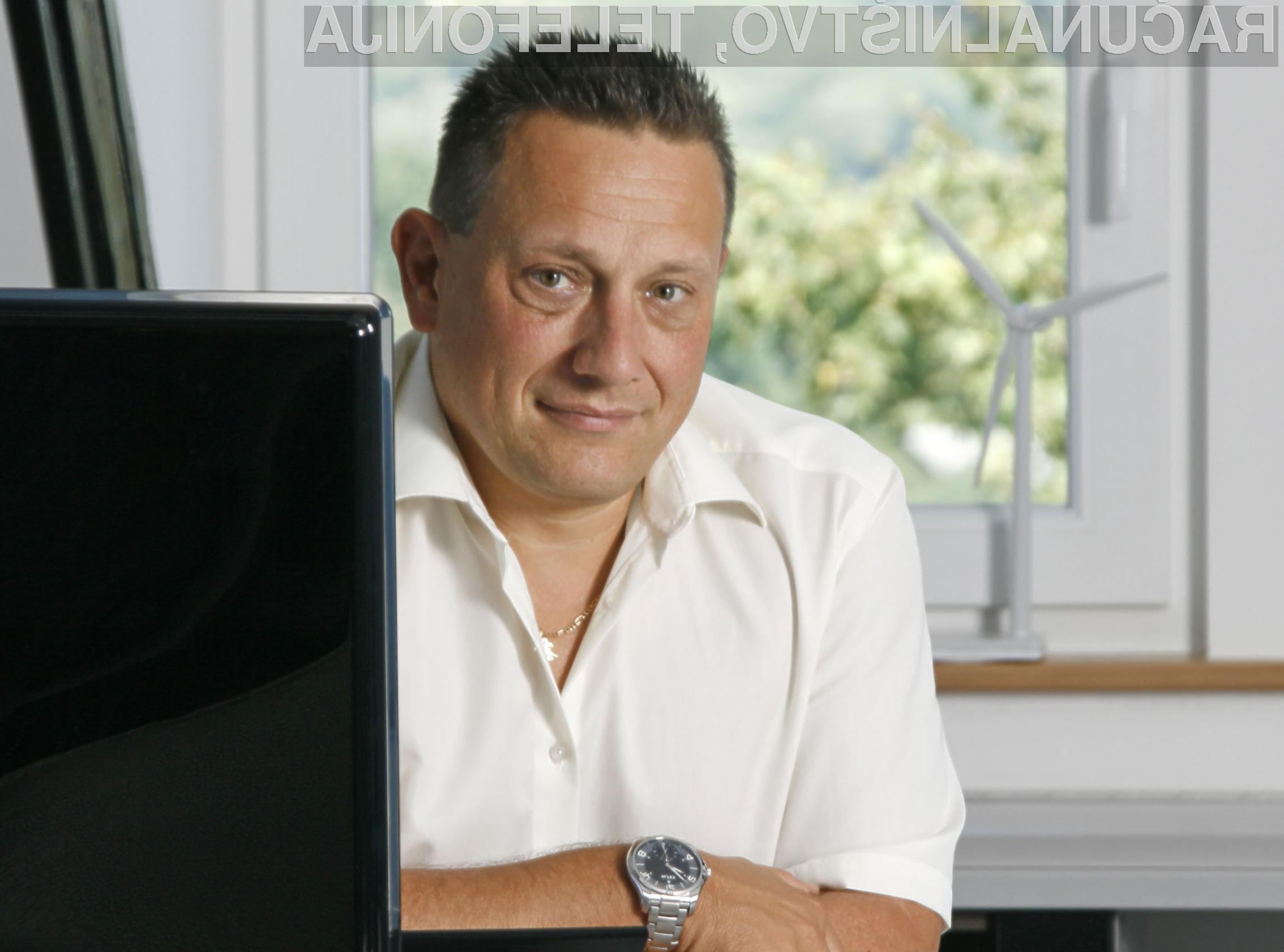 Peter Kavčič, ustanovitelj in prokurist prodjetja comTEC.