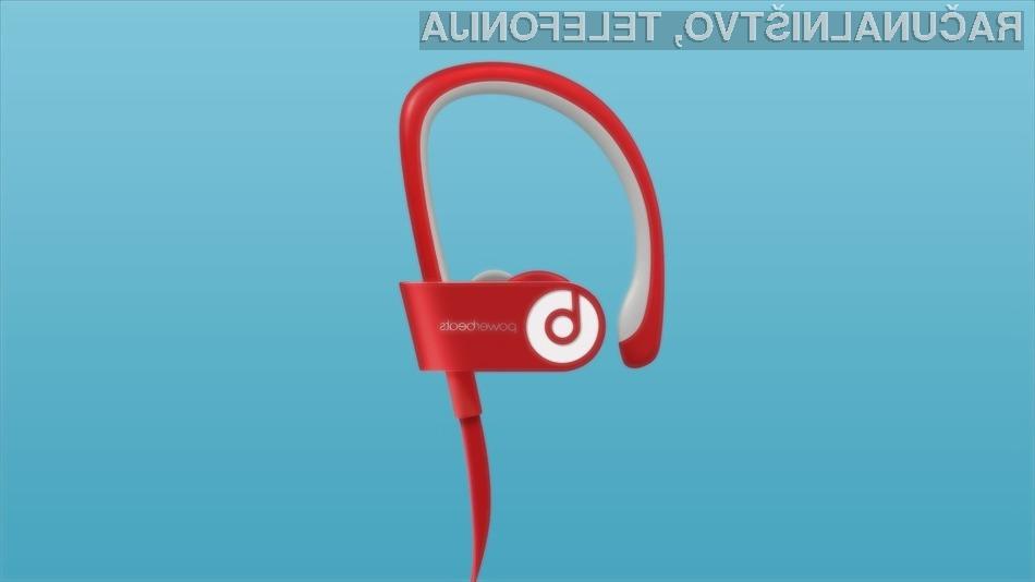 Vrhunske brezžične slušalke Beats Powerbeats 2 so vodotesne in odporne tako na prah kot padce in udarce.