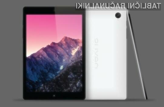 Tablični računalnik Google Nexus 8 naj bi ponujal odlično kombinacijo kakovosti, cene in zmogljivosti!