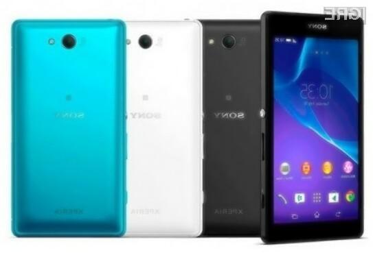 Pametni mobilni telefon Sony Xperia ZL2 naj bi bil na evropskem trgu naprodaj še pred pričetkom jeseni!
