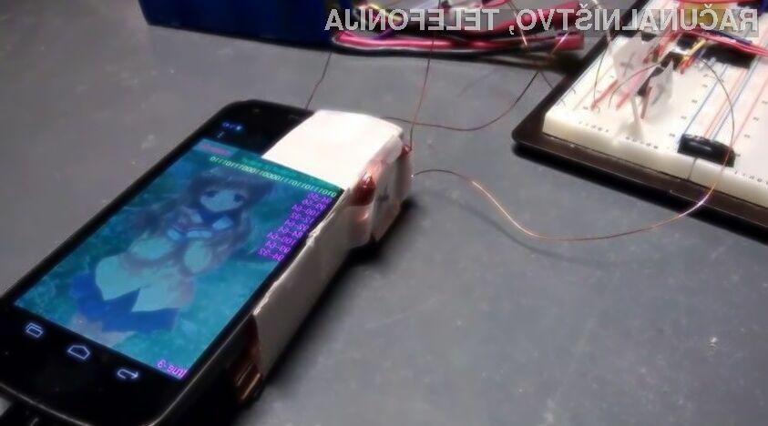 V bližnji prihodnosti naj bi bilo mogoče izmenjevati sporočila med mobilnimi napravami zgolj z uporabo vgrajenega kompasa.