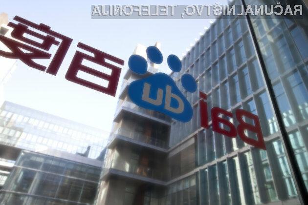 Pri podjetju Baidu so prepričani, da bi lahko njihov avtomobil že v letu dni osvojil mestne ulice.