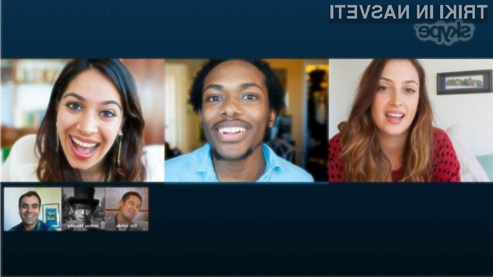 Prenovljeni Skype za Windows 8 in Windows 8.1 was bo takoj prevzel!
