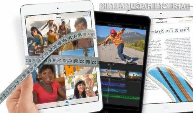 Apple naj bi v letošnjem letu ponudil v prodajo tako miniaturno tablico iPad Mini Air kot gigantsko iPad Pro.
