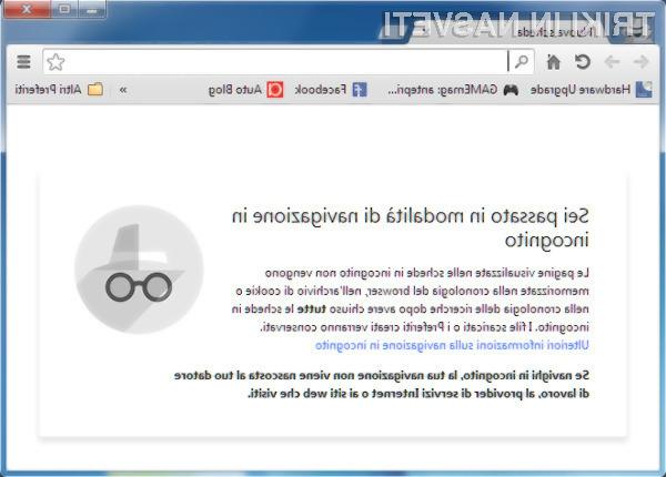 Google Chrome 36 na voljo za prenos!