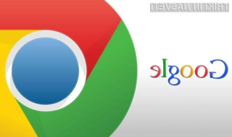 Novi Chrome omogoča hiter izklop vseh zvokov v zavihkih.