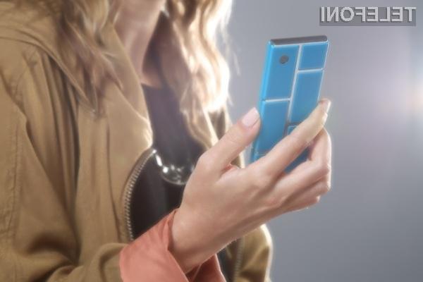 Modularni pametni mobilni telefon Google Ara bo po vsej verjetnosti nared za prodajo šele konec leta 2015.