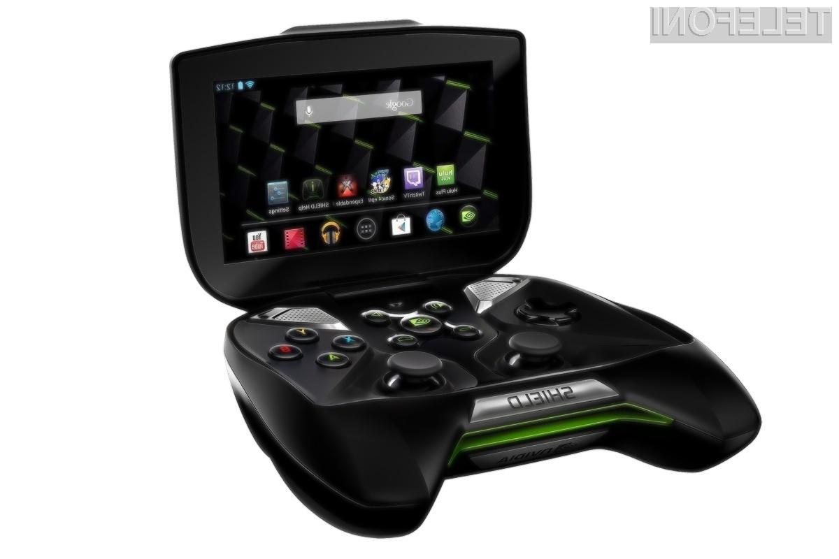 Na novem tabličnem računalniku Nvidia bomo lahko igrali tudi igre, namenjene osebnim računalnikom in igralnim konzolam.