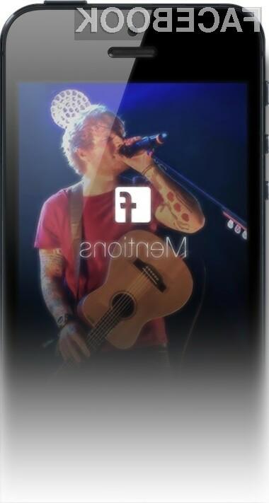 Mobilno aplikacijo Mentions bo namenjena izključno najpomembnejšim osebam Facebooka!