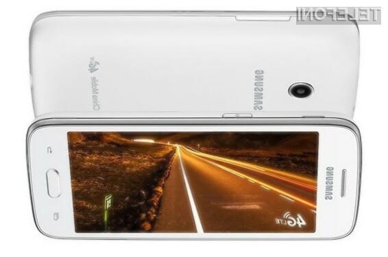 Kompaktni mobilnik Samsung Galaxy Core Mini 4G se bo zlahka prikupil tudi nekoliko zahtevnejšim uporabnikom!