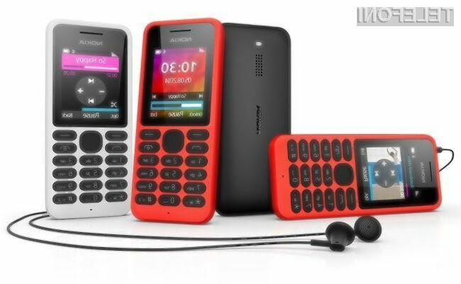 Superpoceni mobilni telefon Nokia 130 bo sprva naprodaj le v državah v razvoju!