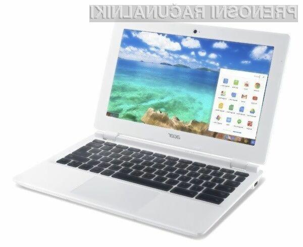 Prenosnik Acer Chromebook 13 bo zlahka opravil tudi z nekoliko zahtevnejšimi nalogami!