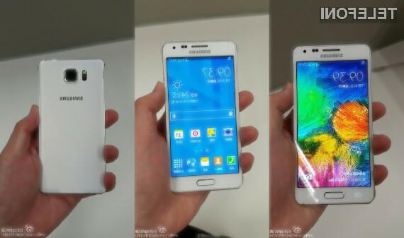 Samsung Galaxy Alpha: Mobilnik s kovinskim ohišjem in 8-jedrnim procesorjem