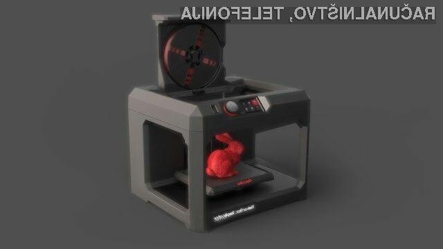 3D tiskalnike MakerBot bomo v Sloveniji še vedno primorani kupovati preko  pooblaščenega zastopnika.
