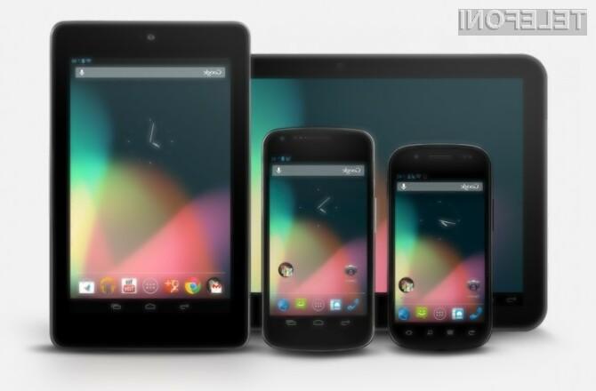 Na trgu je skoraj 19.000 različnih mobilnih naprav Android!