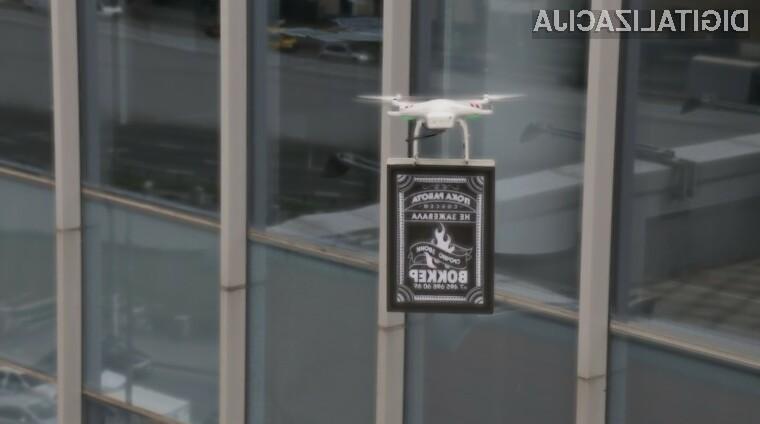 Wokker je s pomočjo Drone-vertisinga dvignil prodajo malic za 40%.