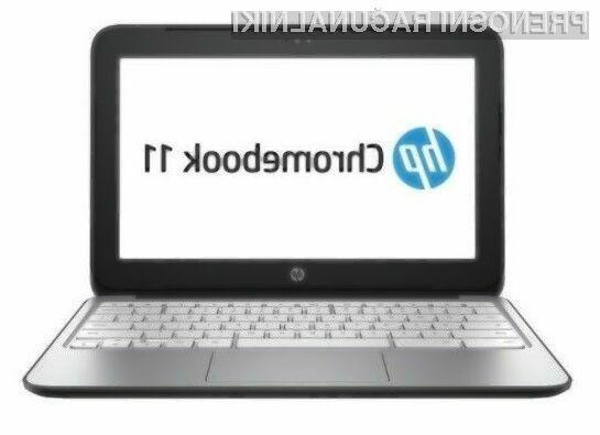 Prenosi računalnik HP Chromebook 11 G3 s procesorjem Intel Bay Trail bo zlahka opravil tudi z najtežjimi nalogami.