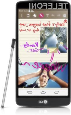 Pametni mobilni telefon LG G3 Stylus bo sprva na voljo le v Braziliji.