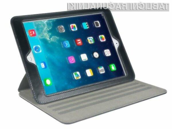Bralnik prstnih odtisov na tablici iPad Air 2 bo predvsem olajšal prijavo v mobilno napravo.