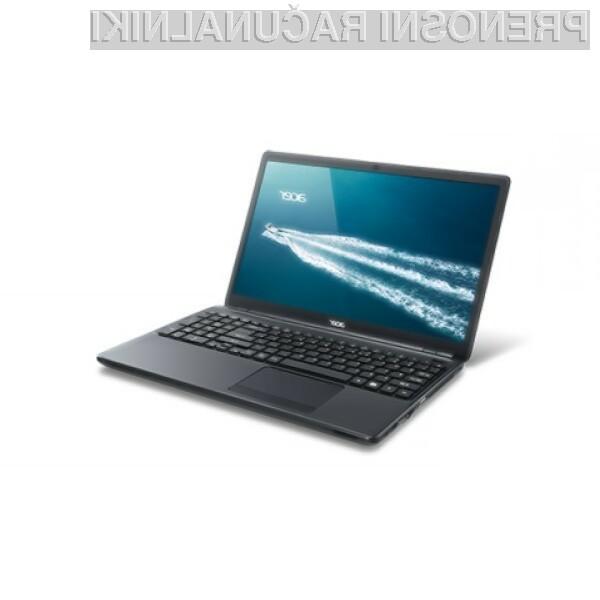 Prenosnik Acer TravelMate P276 lahko brez težav prevzame vlogo namiznega računalnika!