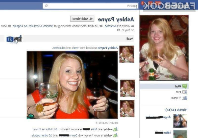 Z vašega profila nemudoma odstranite vse tisto, za kar si želite, da bi ostalo skrito.