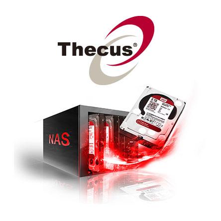 Thecus NAS naprave podpirajo nove WD Red 6TB trde diske