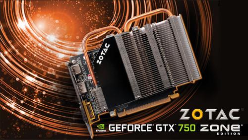 ZOTAC stišal svojo izjemno zmogljivo grafično kartico GeForce GTX 750