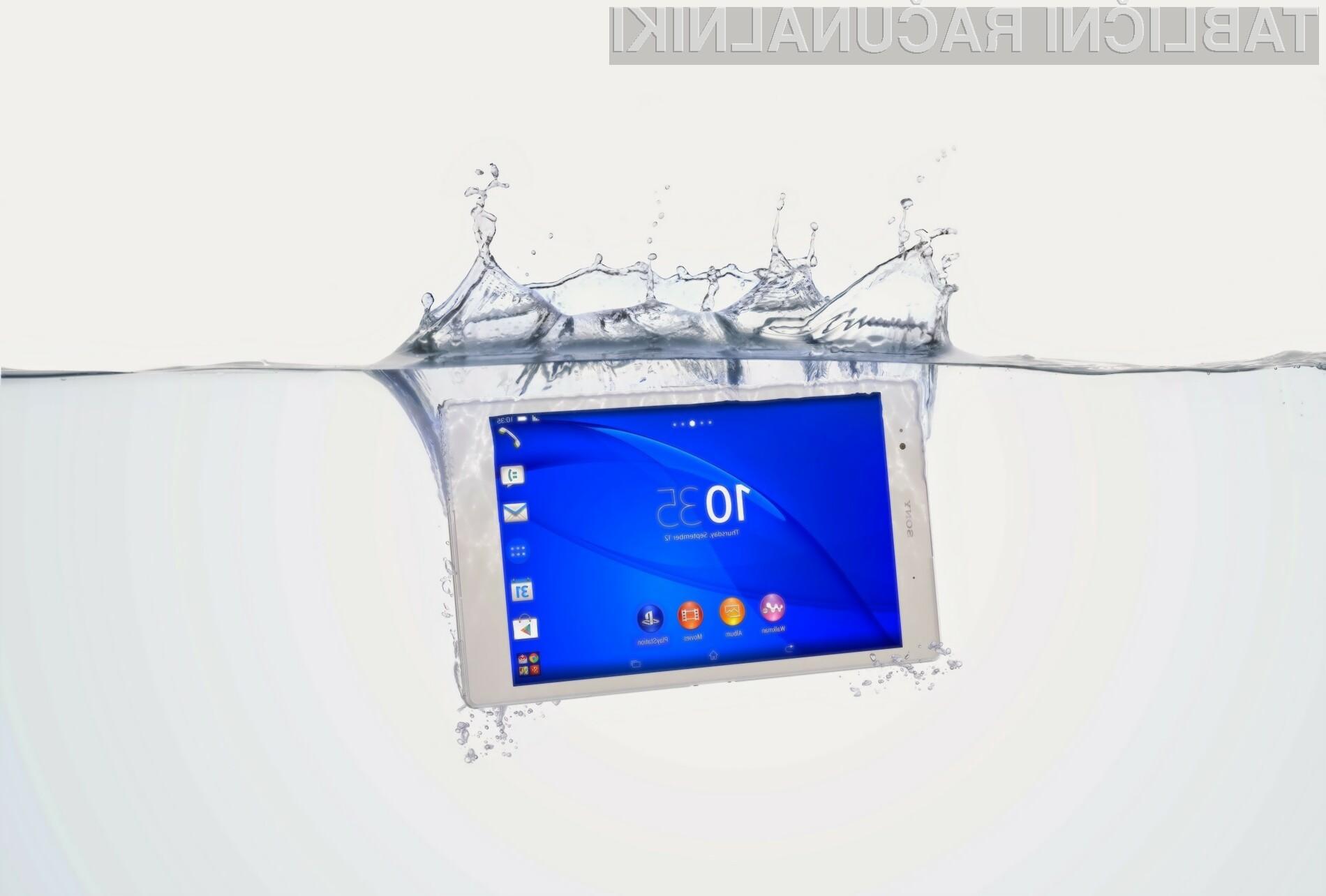 Tablični računalnik Sony Xperia Z3 Tablet Compact bo zlahka opravil z vso konkurenco!