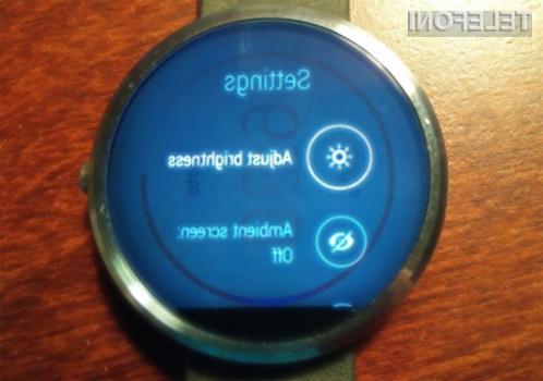 Motorola še vedno preiskuje težave, povezane z zaslonom pametne ročne ure Moto 360.