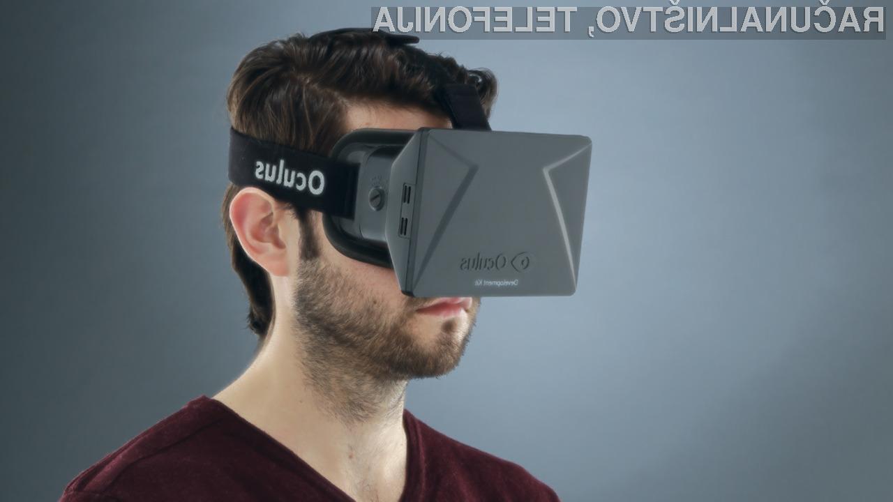 Virtualna očala Rift za največ 300 EUR