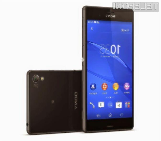 Pametna mobilna telefona Sony Xperia Z3 in Xperia Z3 Compact v debelino meri le dobrih sedem milimetrov!