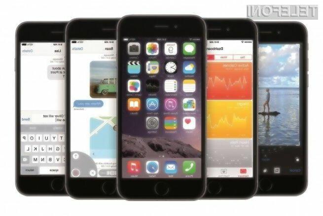 Trgovcem je vsaj zankrat uspelo prodati več manjših pametnih mobilnih telefonov iPhone 6 kot pa večjih iPhone 6 Plus.