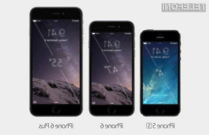 Apple predstavil iPhone 6, iPhone 6 Plus in Watch
