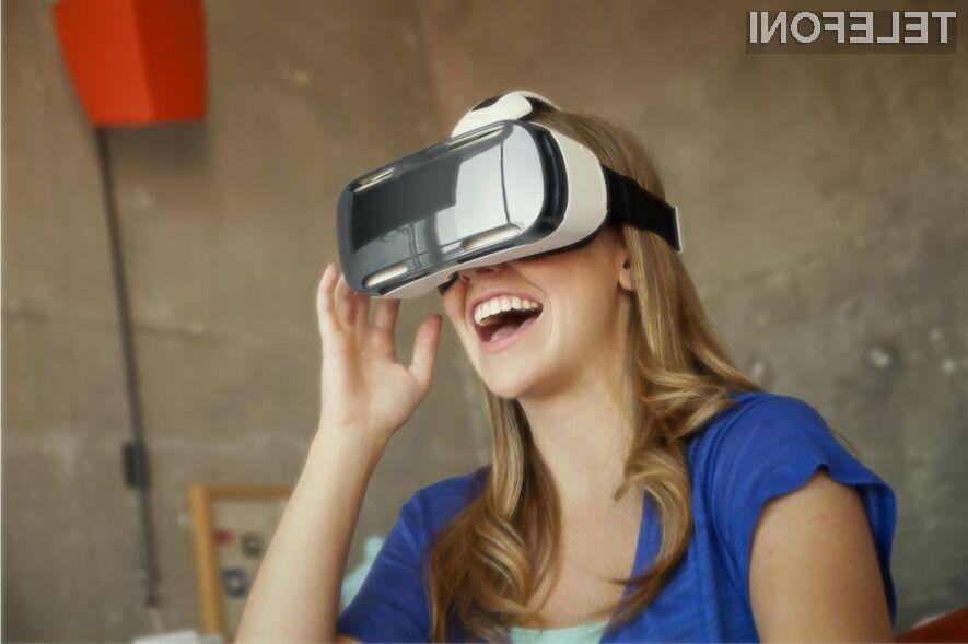 Večpredstavnostni zasebni zaslon Samsung Gear VR je takoj požel veliko uspeha!