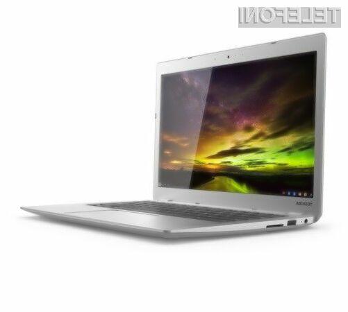 Prenosnik Toshiba Chromebook 2 s procesorjem Intel Bay Trail bo zlahka opravil tudi z najtežjimi nalogami.