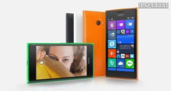 Nokia Lumia 730.