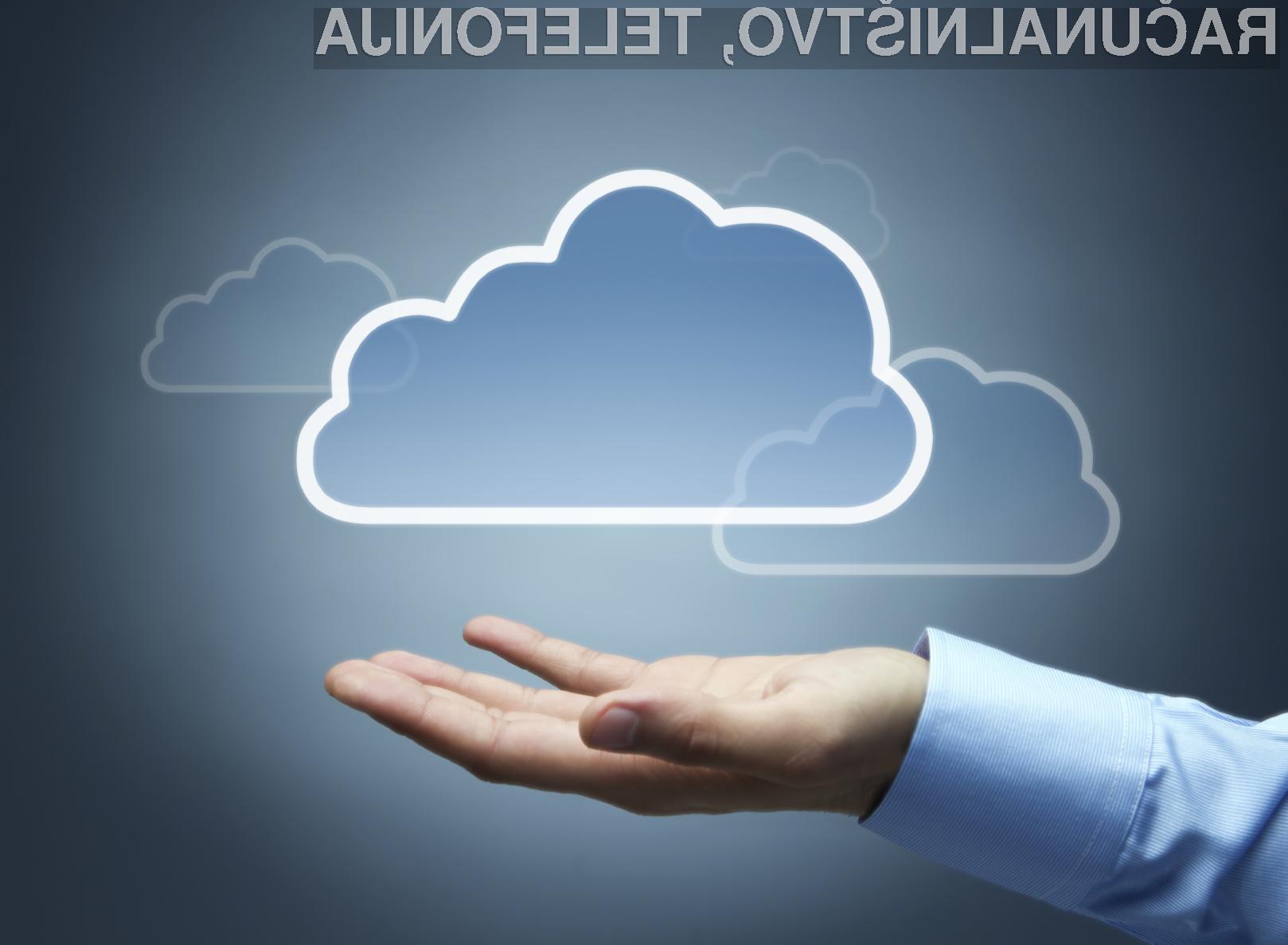 Storitve v oblaku so priložnost
