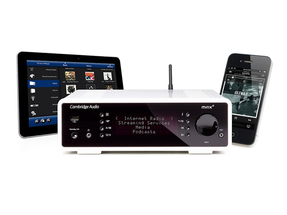 Digitalni glasbeni sistem Minx Xi podpira praktično vse formate