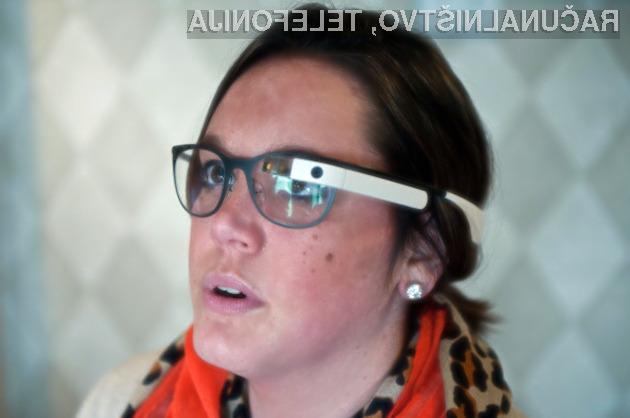Googlova očala Glass je mogoče odslej uporabljati tudi v vlogi merilnika stresa.